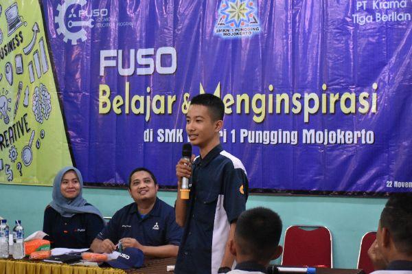 Fuso Adakan Belajar, Menginspirasi serta Memperkuat Kegiatan Belajar Siswa melalui Donasi Alat Praktik untuk SMK