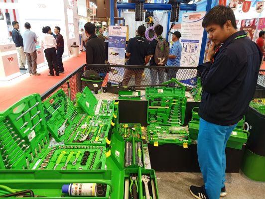 Tekiro Tools Berikan Penawaran Menarik di Pameran Manufacturing