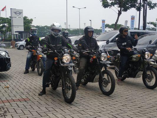 KMI gelar Test Ride Kawasaki W175TR Bersama Awak Media di Gading Serpong-BSD