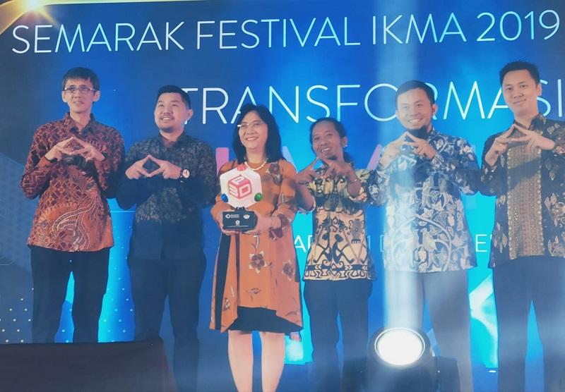 Semarak Festival IKMA 2019 Tandai Kehadiran Asosiasi Printer Tridimensi Indonesia