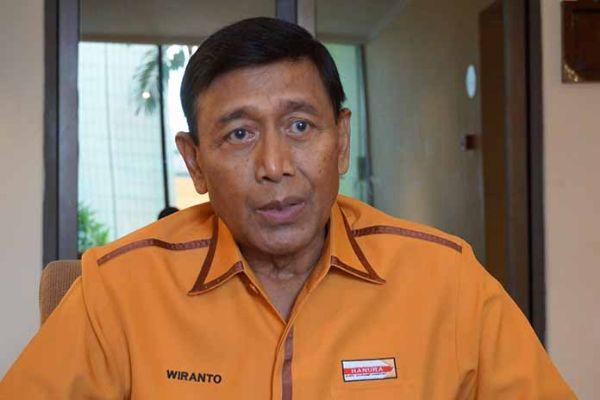 Kursi Panas Ketua Umum Partai Hanura, Wiranto Desak OSO Mundur