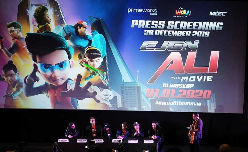 Kartun Animasi Asal Malaysia 'Ejen Ali The Movie' Tayang Serentak di Indonesia 1 Januari 2020