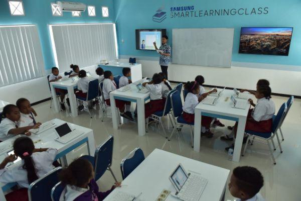 Berikut Tiga Fakta Murid Lebih Senang Belajar di Kelas Digital Samsung!