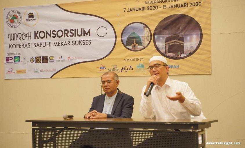 SAPUHI Berangkatkan 74 Jemaah Umroh Konsorsium Perdana