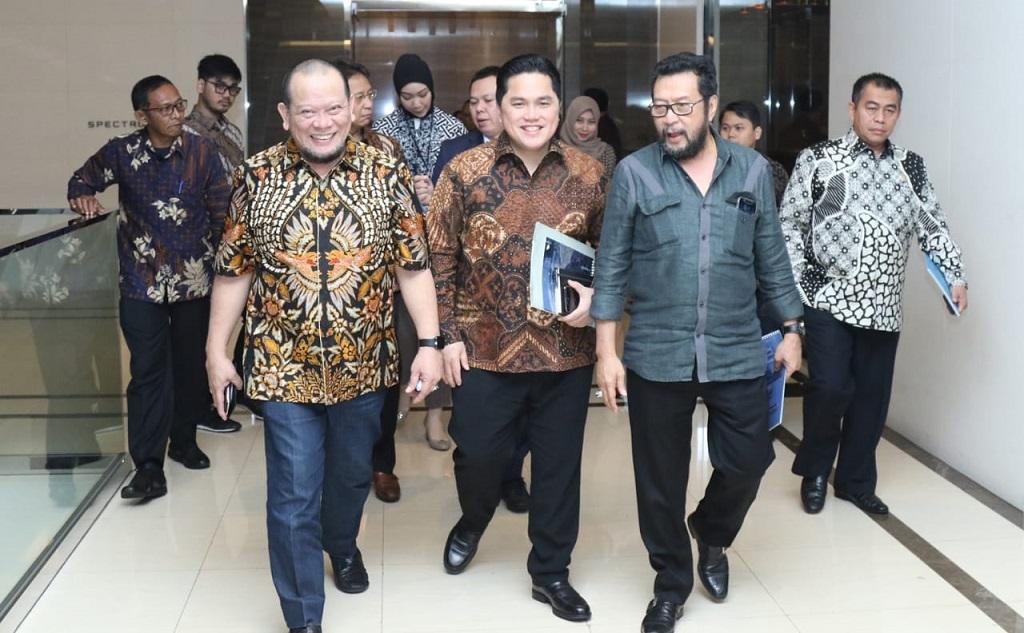 DPD RI Tanggapi Roadmap Erick Thohir Soal Penataan BUMN