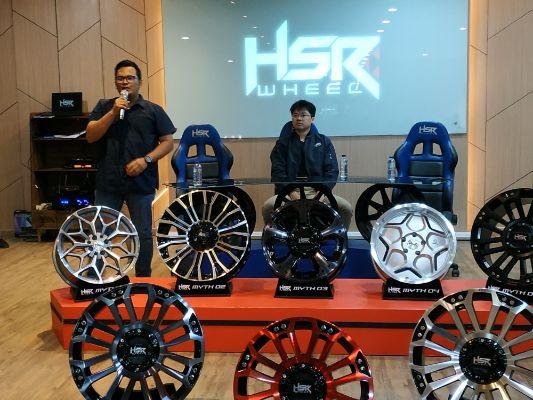 MYTH Series Velg Original Design Resmi Diluncurkan HSR Wheel di Pasar Otomotif Indonesia