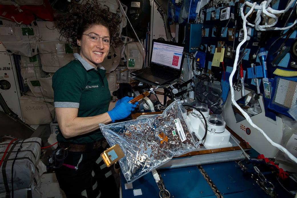 Astronaut Wanita NASA Pecahkan Rekor Setelah Hampir Setahun Tinggal di Antariksa