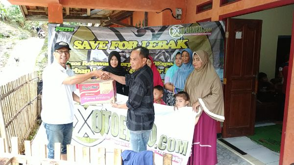 Donasi Kedua untuk Kampung Cinyiru Lebak Banten