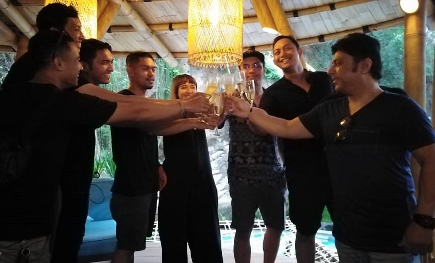 The Grand Plan Garap Projek Event Perdana di Pulau Bali 'Lantern River Party'