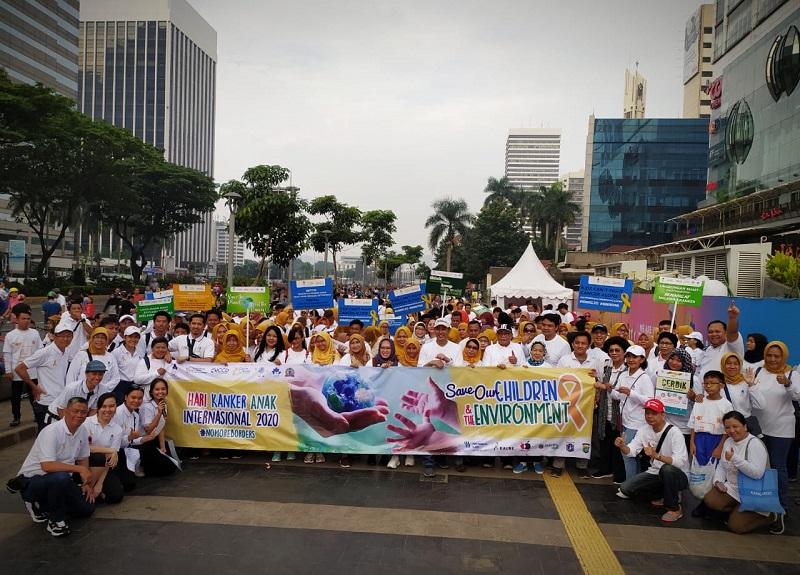Libatkan 50 Survivor Kanker Anak, YOAI Gaungkan Kampanye 'Save Our Children and the Environment'