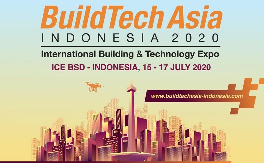 Indonesia Jadi Tuan Rumah Perhelatan BuildTech Asia 2020