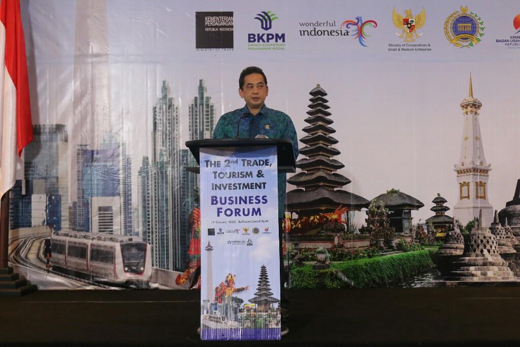 Buka Forum TTI 2020, Mendag Agus Optimis Sektor Ritel Angkat Pertumbuhan Ekonomi