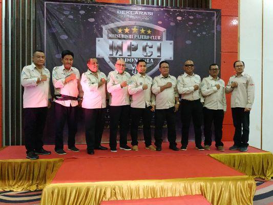 Mitsubishi Pajero Club Indonesia Gelar Deklarasi di Lor In Hotel Sentul