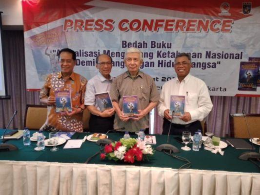 Aliansi Kebangsaan Bersama YSNB dan FKPPI Luncurkan Buku KETAHANAN NASIONAL dengan PARADIGMA PANCASILA