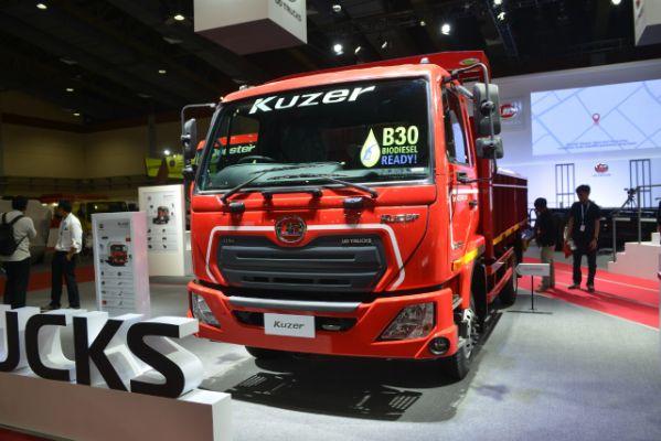 UD Trucks Quester dan Spesifikasi Kuzer RKE 150 WB 3350