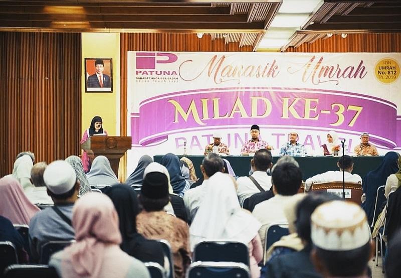 600 Lebih Jamaah Hadiri Manasik Umrah dan Milad ke-37 Patuna Travel