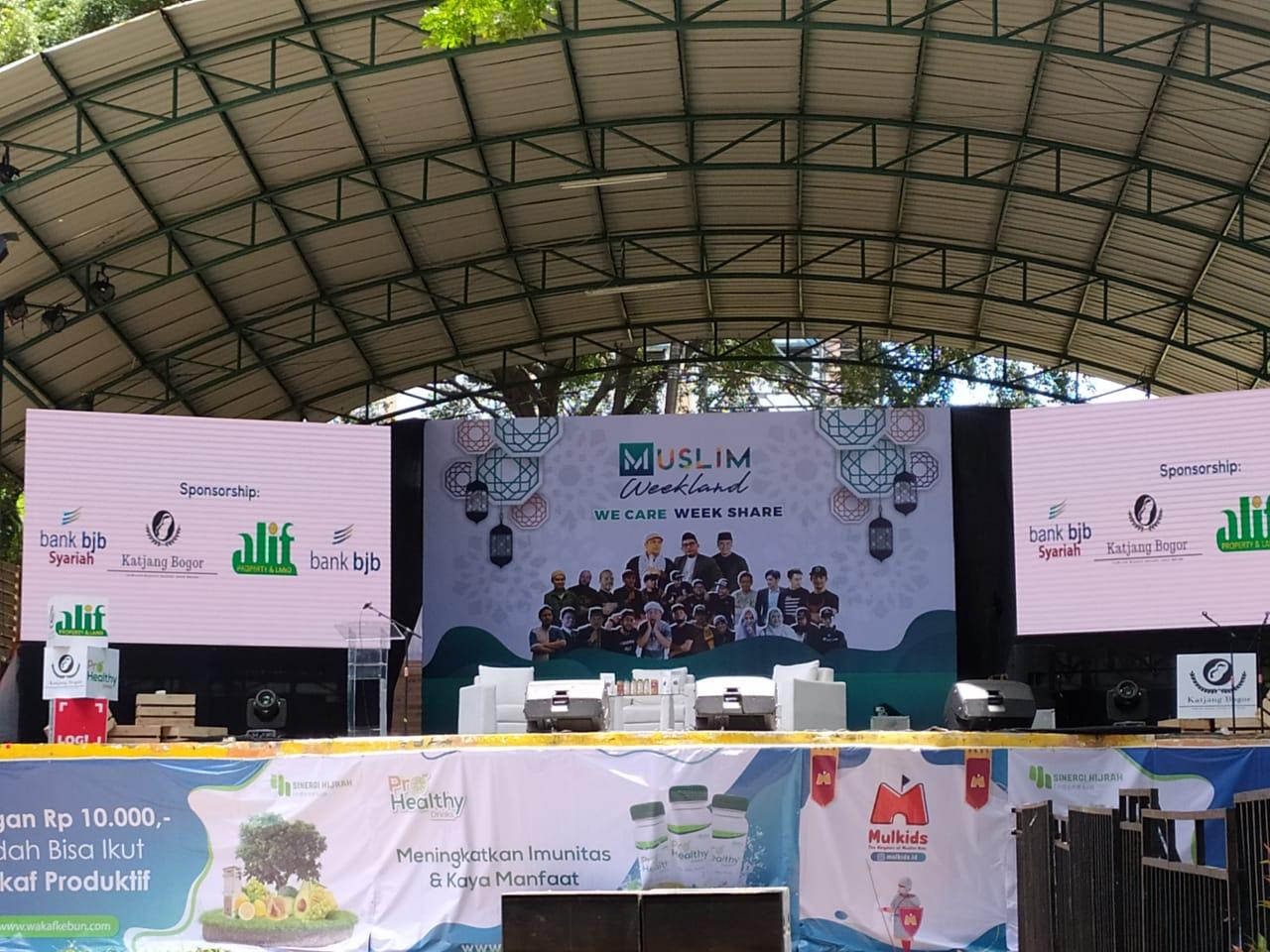 Debut Perdana, Muslim Weekland Bogor Dibanjiri Ribuan Pengunjung