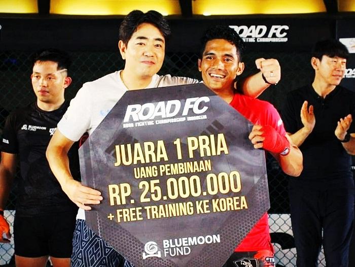 Juarai Road FC Indonesia Session 1, Dua Petarung MMA Indonesia Terbang ke Korsel