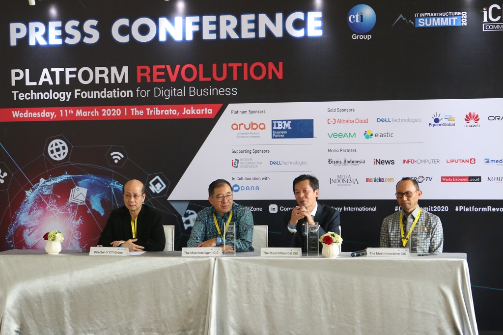 CTI IT Infrastructure Summit 2020 Bahas Tantangan Teknologi Platform Tanah Air