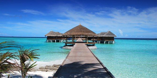 Resor Mewah di Maladewa Dijadikan Tempat Karantina Pasien Corona