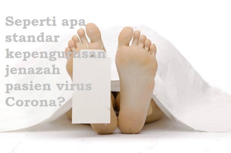 Soal Penanganan Jenazah Pasien Corona, Muhammadiyah Keluarkan Fatwa Berikut