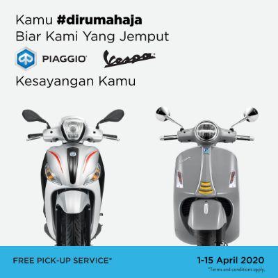 PT Piaggio Indonesia Hadirkan Layanan Free Pick-Up Service ke Rumah Pelanggan
