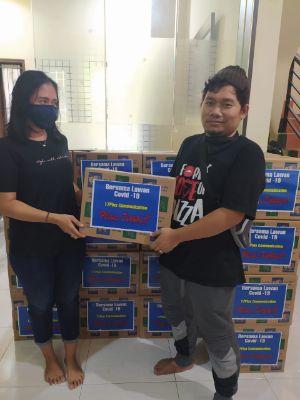 Peduli Jurnalis Terdampak Covid-19, 17Plus Communication Bagikan Paket Sembako