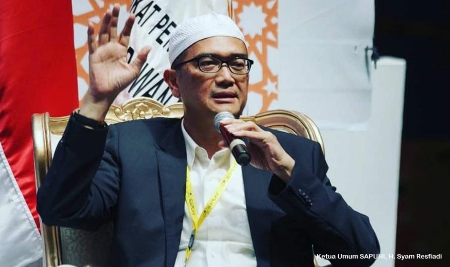 Surati Jokowi Terkait Draft RUU Omnibus Law UU No.8 2019, Ketum SAPUHI : Kami keberatan!
