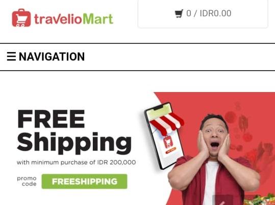 Resmi Diperkenalkan, Berikut Keuntungan Belanja Online Kebutuhan Pangan di TravelioMart