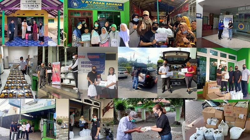 Perangi Covid-19, Waringin Hospitality Distribusikan Donasi 1500 Paket Nasi Box di Sejumlah Kota