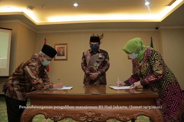 Proses Panjang, UIN Jakarta Resmi Kelola Manajemen RS Haji