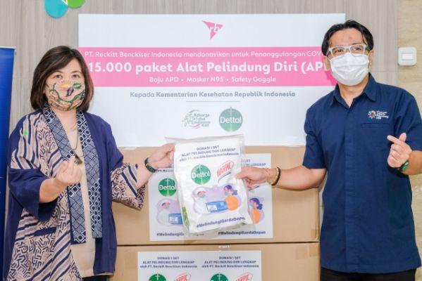 Dettol dan Harpic Donasikan 22 Miliar Rupiah Guna Melawan COVID-19