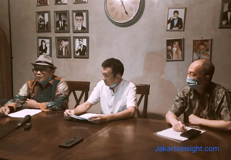 Jumpa pers pihak PT. Harmas Jalesveva, Selasa (16/6), Metro Coffee Jakarta Pusat | jakartainsight.com