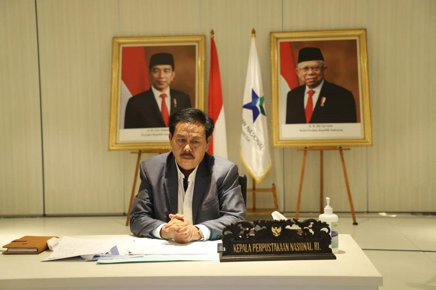 Kepala Perpustakaan Nasional, M. Syarif Bando | jakartainsight.com