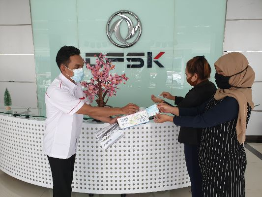 Penjualan disemua diler DFSK kembali normal. | jakartainsight.com