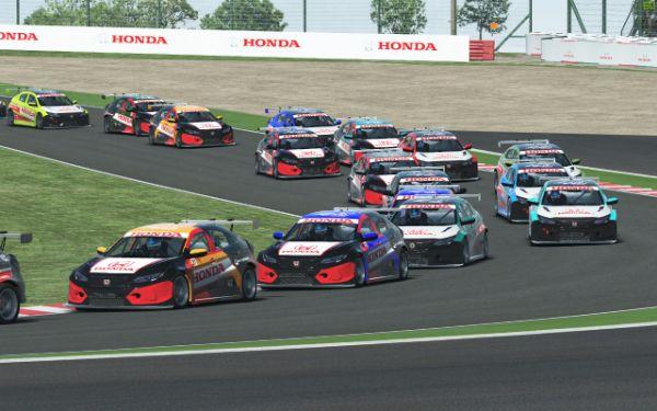 Balap mobil virtual Honda Racing Simulator. | jakartainsight.com