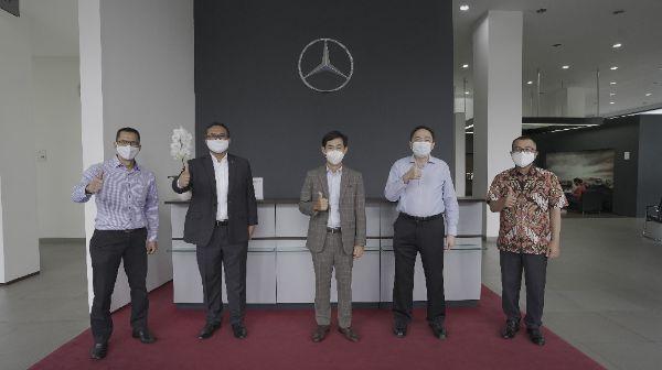 Terapkan SOP Kesehatan, Mercedes-Benz Siap Sambut Pelanggan di Diler Resminya