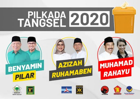 Jelang Pilkada Tangsel, Putri Wapres dan Keponakan Prabowo Tertinggal dari Anak Ratu Tatu | jakartainsight.com