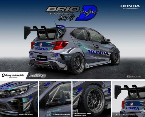 Muhammad Haekal Shafi Raih Juara Pertama  di Ajang Desain Honda Brio V-Mod #3