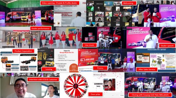 Gelar 45 Acara, KTB Targetkan Ribuan Pemesanan Kendaraan Mitsubishi Fuso Secara Daring