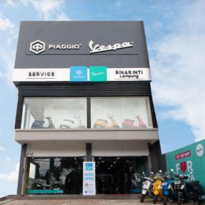 Berkolaborasi dengan PT Sinar Inti Harapan, Piaggio Indonesia Perluas Jaringan Diler di Bandar Lampung