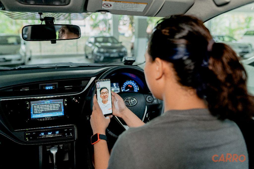 CARRO Memimpin Penjualan Mobil Secara Contactles di Indonesia