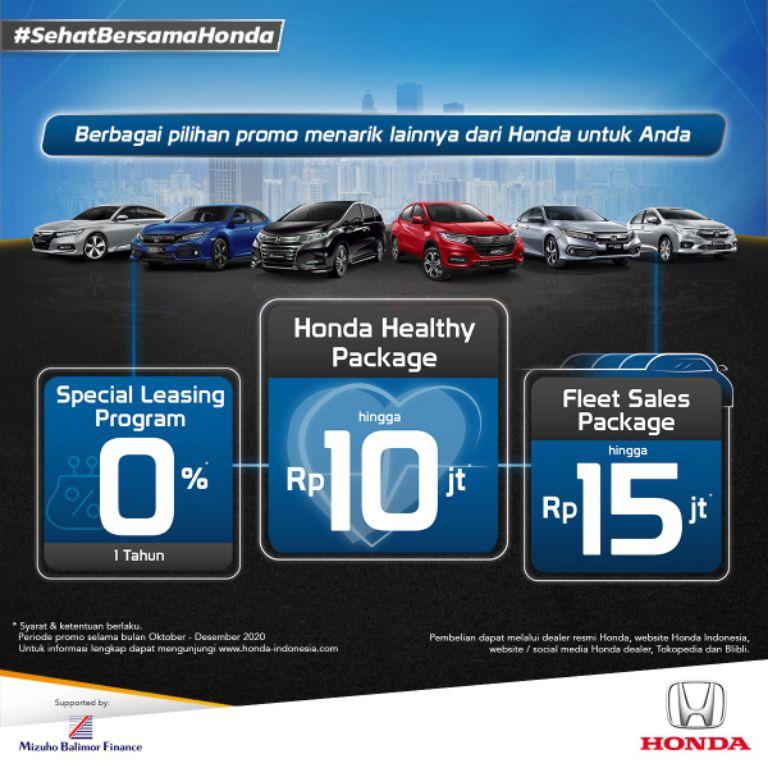 'Sehat Bersama Honda', HPM Tawarkan Promo Gaya Hidup Sehat dan Menguntungkan bagi Konsumen