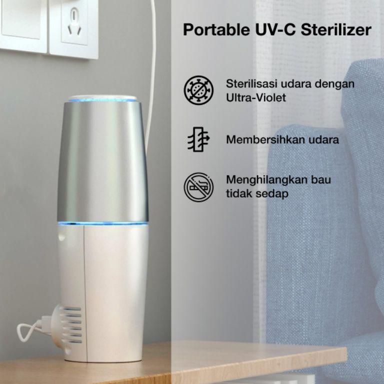 UV-C Air Purifier, Pembersih Udara Kabin Mobil dari Primes Asia | jakartainsight.com