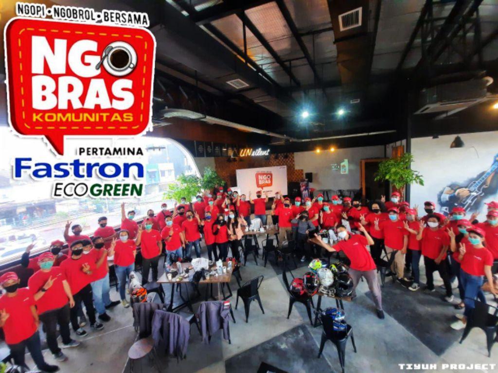 NGOBRAS ala Bikers Lampung Bersama Pertamina
