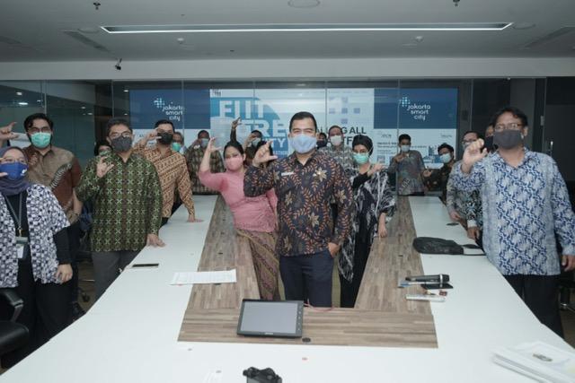 Jakarta Smart City Teken Nota Kesepahaman dengan 9 Startup Finalis  Future City Hackathon