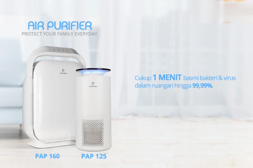 Cegah Berbagai Penyakit Berbahaya Karena Udara Kotor, Polytron Perkenalkan Air Purifier | jakartainsight.com