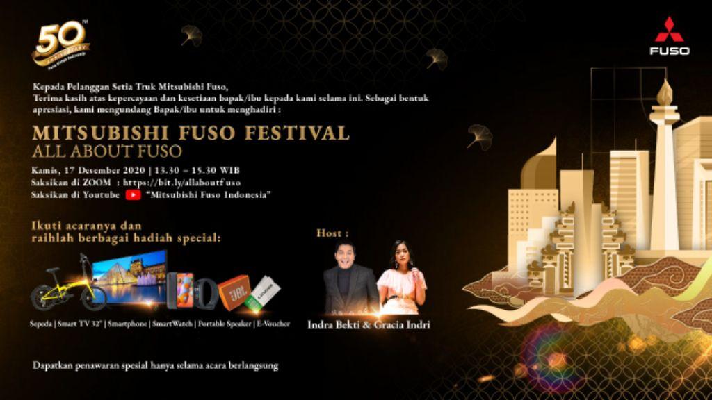 Fuso Festival flyer. | jakartainsight.com