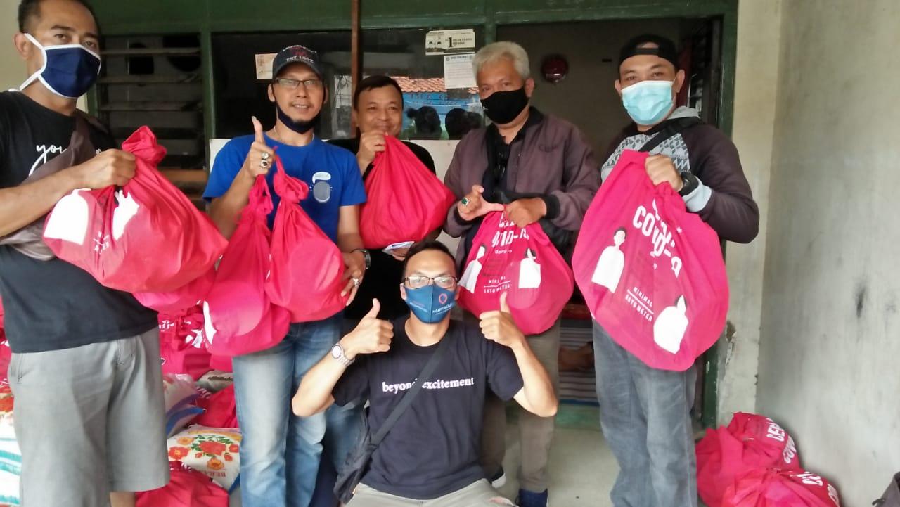 Yayasan Peduli Jurnalis Indonesia (YPJI) Terima dan Salurkan 5300 Paket Bansos.