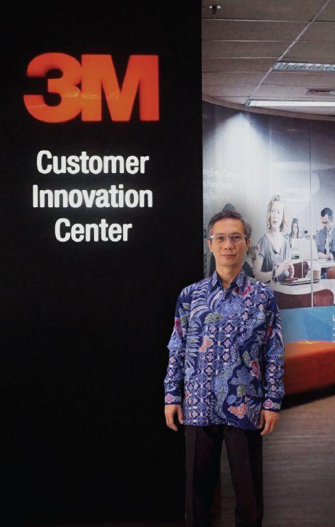 Pertama dari Indonesia, Sigit Priowaskito Menjabat sebagai Presiden Direktur 3M Indonesia